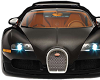 BLACK BUGATTI CAR FRONT
