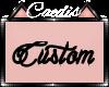 Custom for Fif