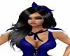 Charlotte BLACK/BLUE BOW