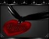 {D} Angel Heart Collar F