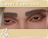 Thick Layer brows- Brown