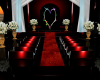 Red & Black Wedding room