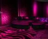 (M) Pink Round Couch
