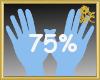 75% Scaler Hands