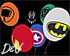 !D Marvel Balloons