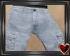 Ⓣ Cargo Shorts Faded