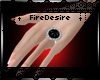 FD Black Stone Ring