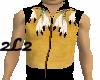 Buckskin Scout Vest-M