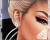 !Q! Diamond Earings
