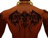 Tribalwings Back Tattoo