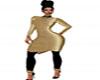 J36 Blk & Gold Sweater