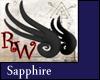 Mini Wyrm Wings Sapphire