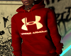 Under Armour Red Hoody