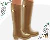 ! Camel Rain Boots