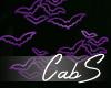 CS Purple Neon Bats