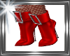 ! red boots,