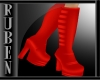 (RM)lolli red boots