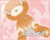 *SH* kawaii brown bear