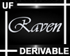 UF Derivable Raven Sign