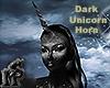 Dark Unicorn Horn Femme