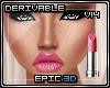 R% Lip Gloss Hot Pink