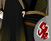 Black Dragon Hanfu Robe