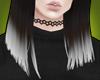 ┼ Kim | White Dip-Dye