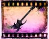 Purple Fade Guitar
