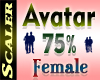 Avatar Resizer 75%