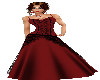 Red & Black Gown