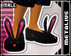 Black/Pink BunnySlip.