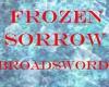 frozen sorrow