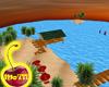 Tropcal Sunset Island