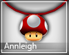 Super Mushroom Necklace