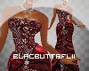 Red Designer Gown BMXXL