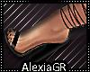[A] String Heels Black