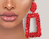 I│Red Earrings