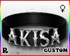 ☢! Akisa Collar Silver