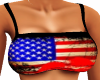 Flag Backless Top