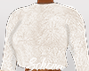 ṩFuzzy Sweater White
