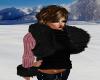Layerable Fur Sweater