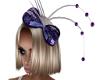 Paulas Purple Bow Hat