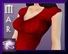 ~Mar Retro Dress Red