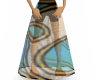 Soft Color Swirl Skirt