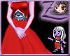 (G11) Gea red Dress