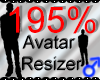 *M* Avatar Scaler 195%