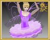 Purple Ballerina Fairy