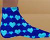Heart Socks 6 (M)
