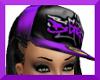 !S!BGIRL $ CAP PURPBLK