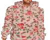 hoodie rosebud pattern
